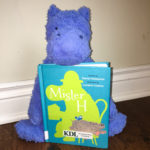 Mister H book and a hippo