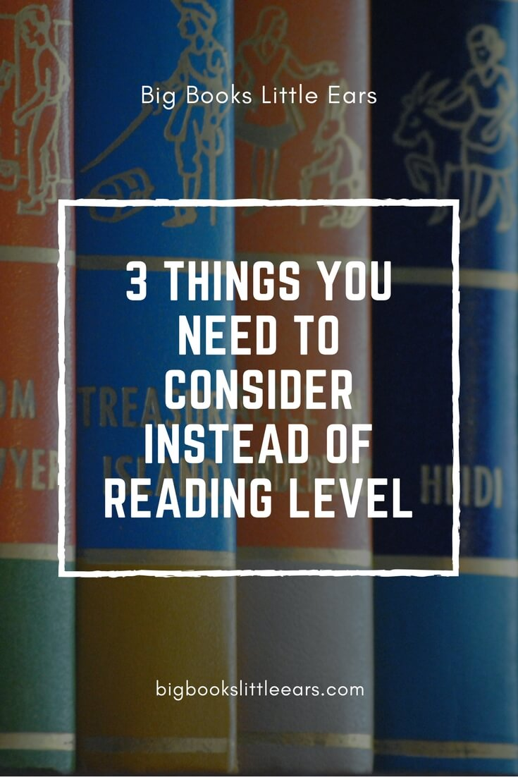 Reading level of chapter books can be difficult to determine