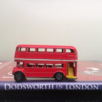 Dodsworth in London book and double decker bus