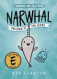 Narwhal unicorn of the sea book cover