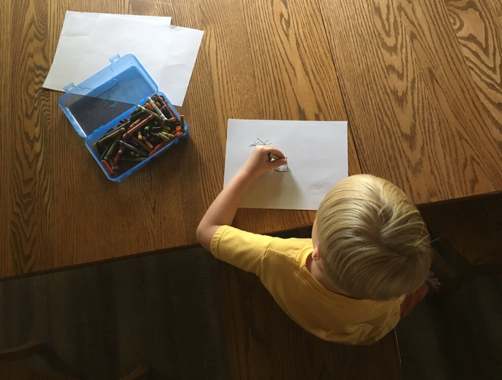 When it comes to activities to go with books, less is more. That's what makes this easy book activity so great!