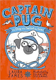 Captain pug cover - A great first read aloud chapter book!