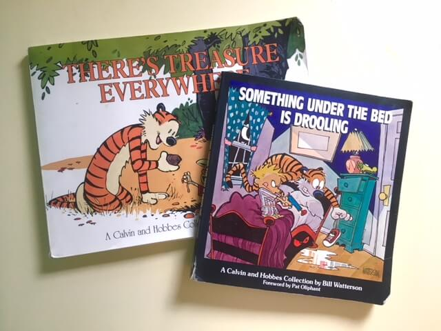 Calvin and Hobbes - how to encourage your husband to read aloud