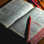 """open Bible - Every book can be a """"Christian read aloud"""" if you discuss it well"""