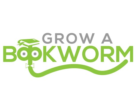 Grow a Bookworm logo