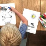 Practicing literacy skills