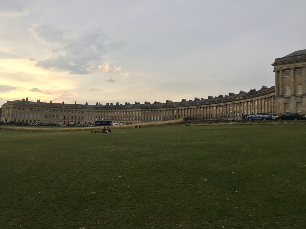 The Crescent in Bath