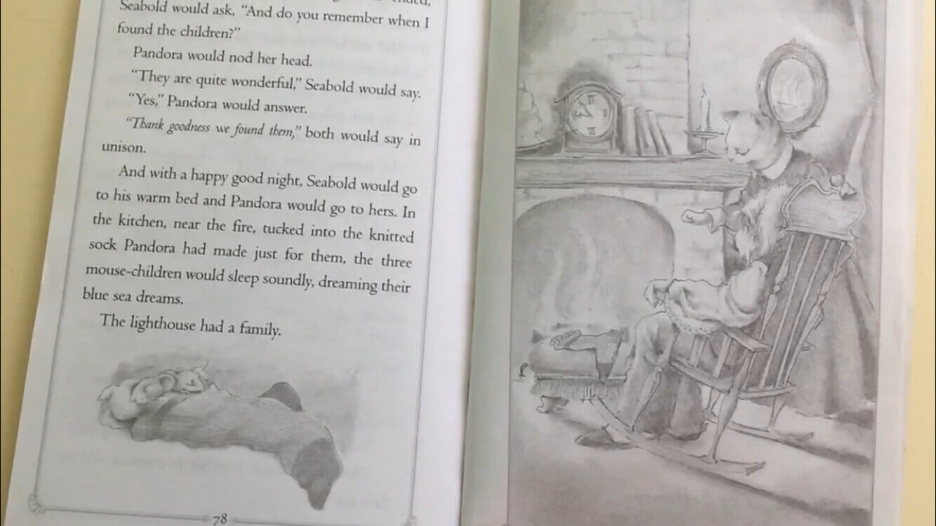 The Lighthouse Family illustrations - a sweet read aloud series