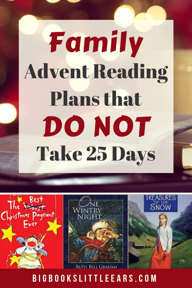 Family Advent Reading Plans Pin