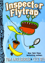 Inspector Flytrap cover, chapter book for kids who like dog man