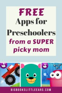 The best FREE apps for preschoolers