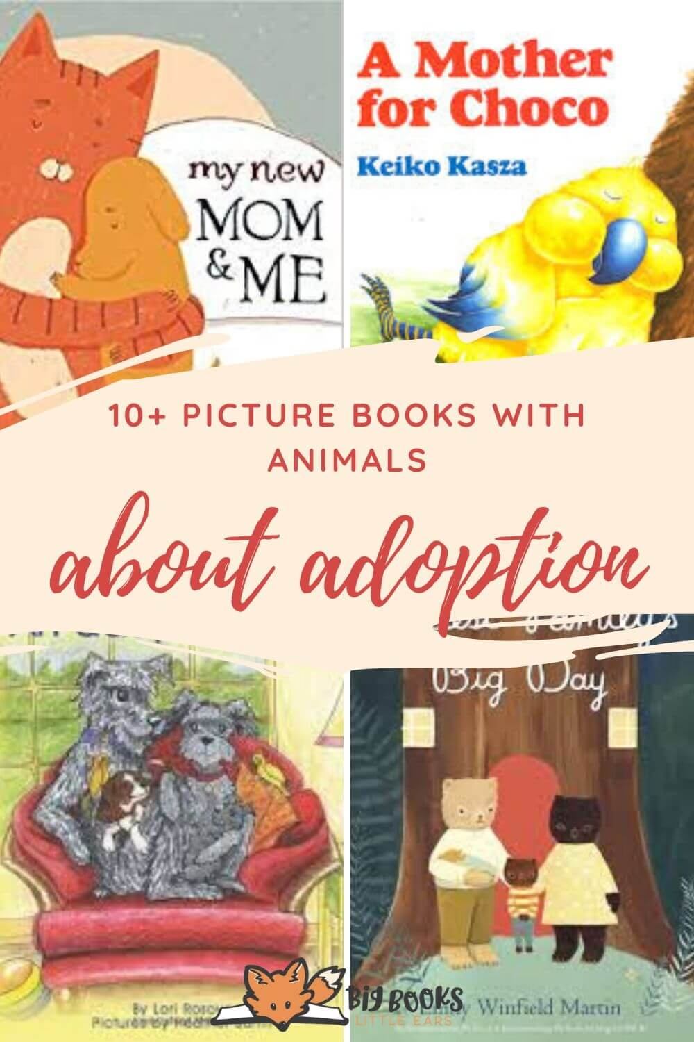Picture books about adoption