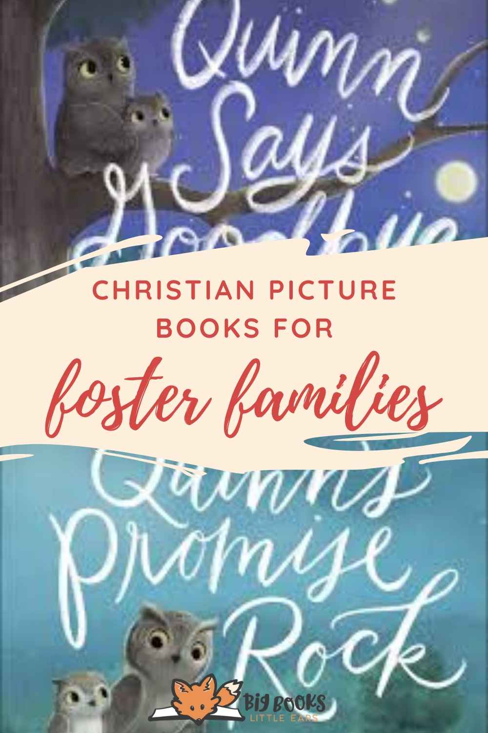 Christian picture books for foster families