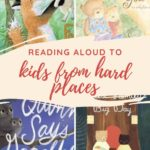 reading to kids from hard places