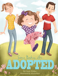 short Christian picture book about infant adoption