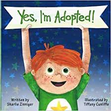 color infant adoption picture book