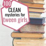 clean mysteries for tween girls pin