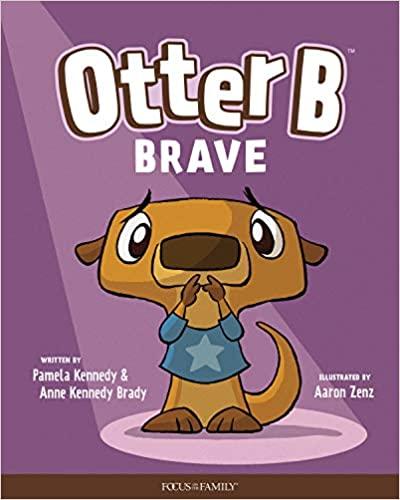 otter b brave picture book cover