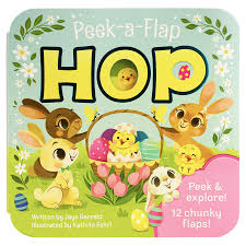 not religious Easter board book cover