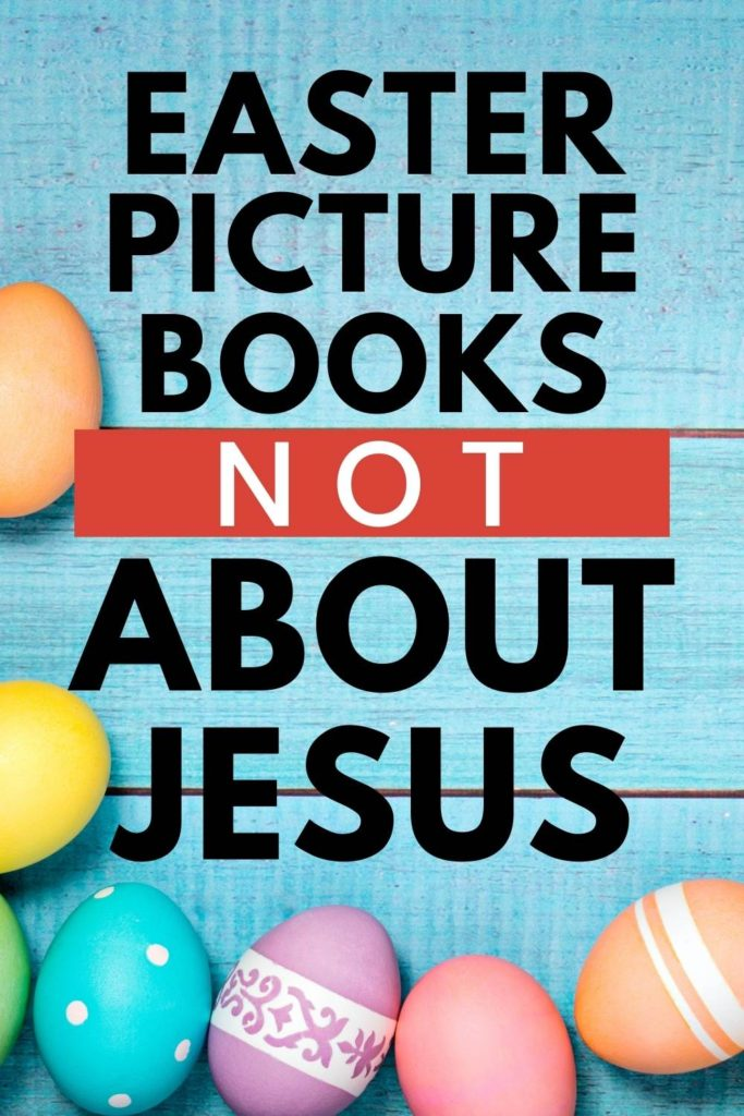 pin for Easter picture books not about Jesus