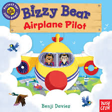 Bizzy bear board book new for 2021 cover