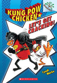 Kung Pow Chicken graphic novel for kids who love Dog Man
