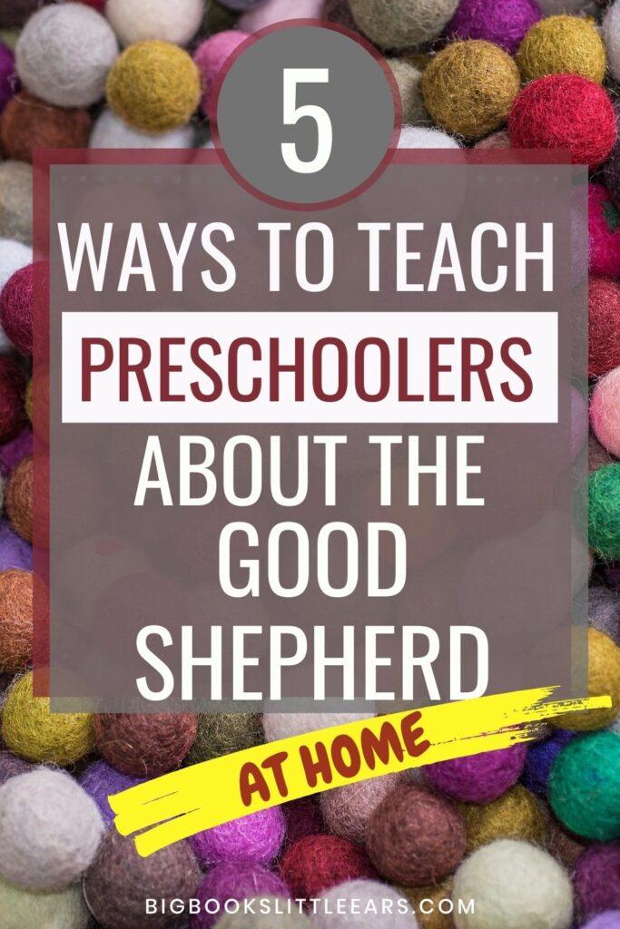 good shepherd for preschoolers pin
