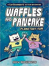 Waffles and Pancake graphic novel cover